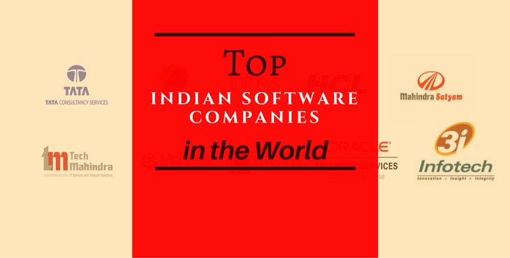 top 10 Indian software companies in the world